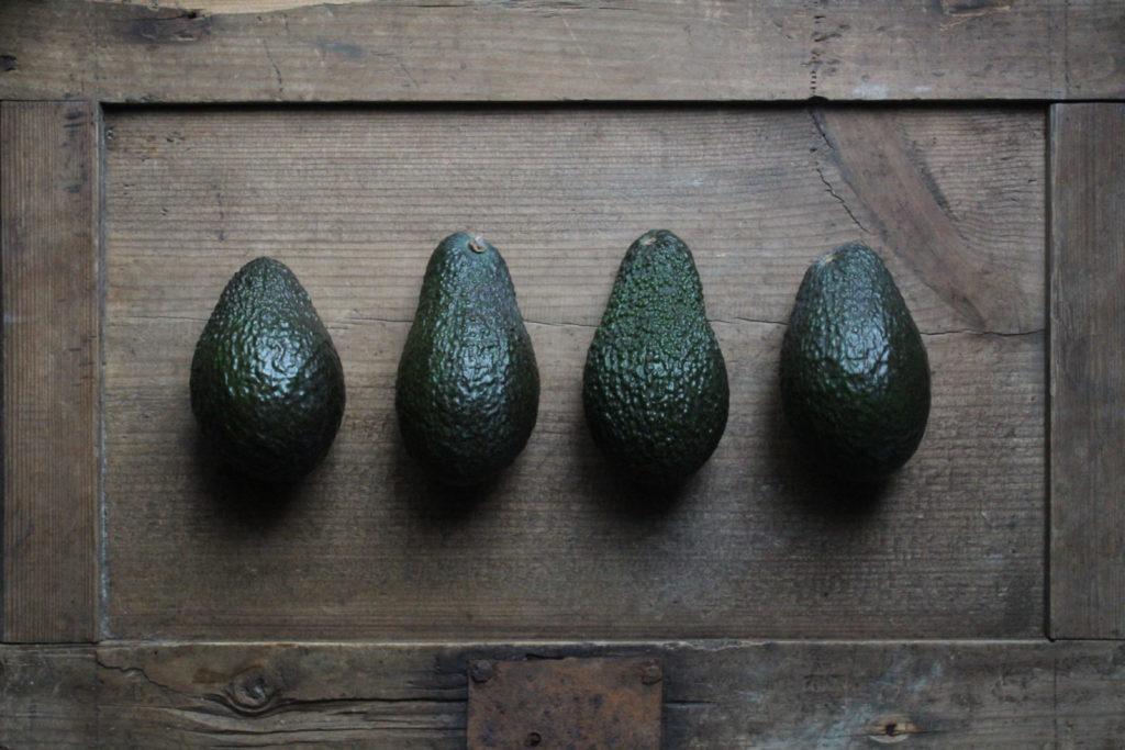 Vegan avocado recept